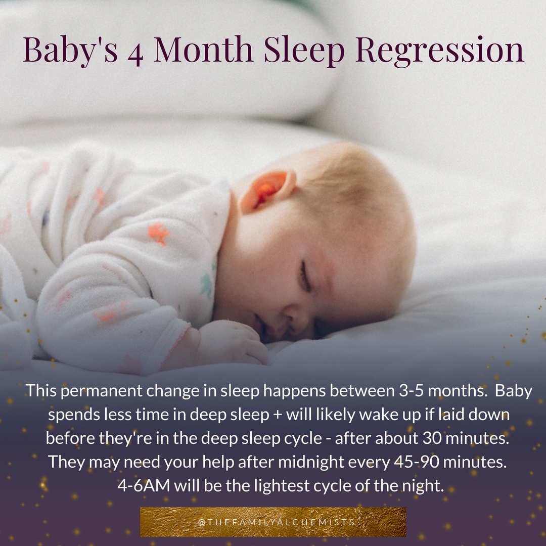The 4 Month Sleep Regression